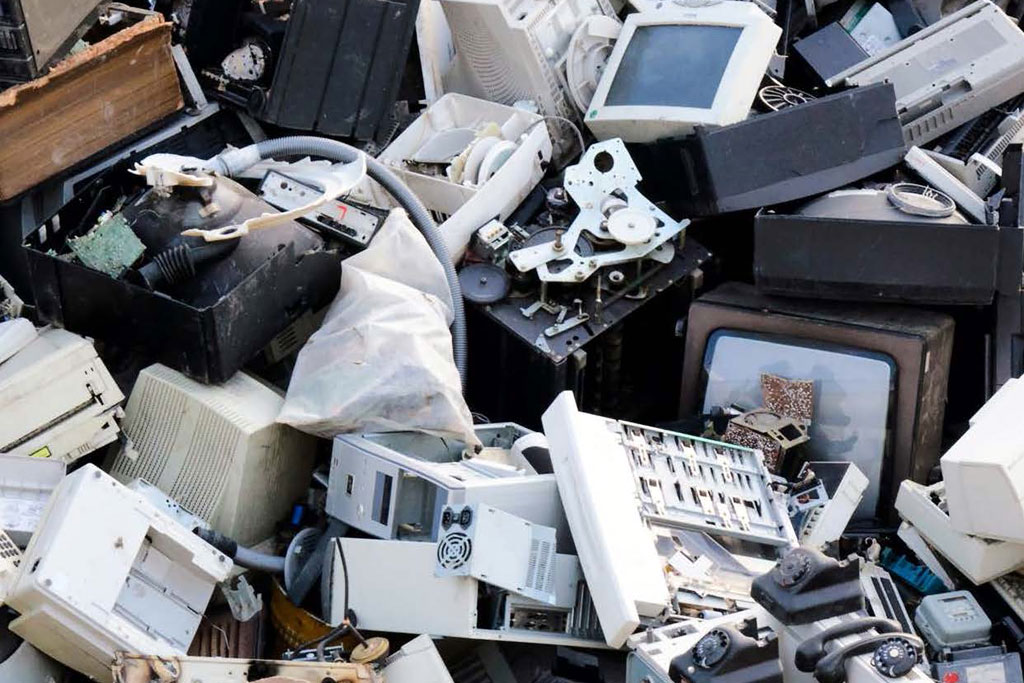 Destinação final de resíduos eletrônicos