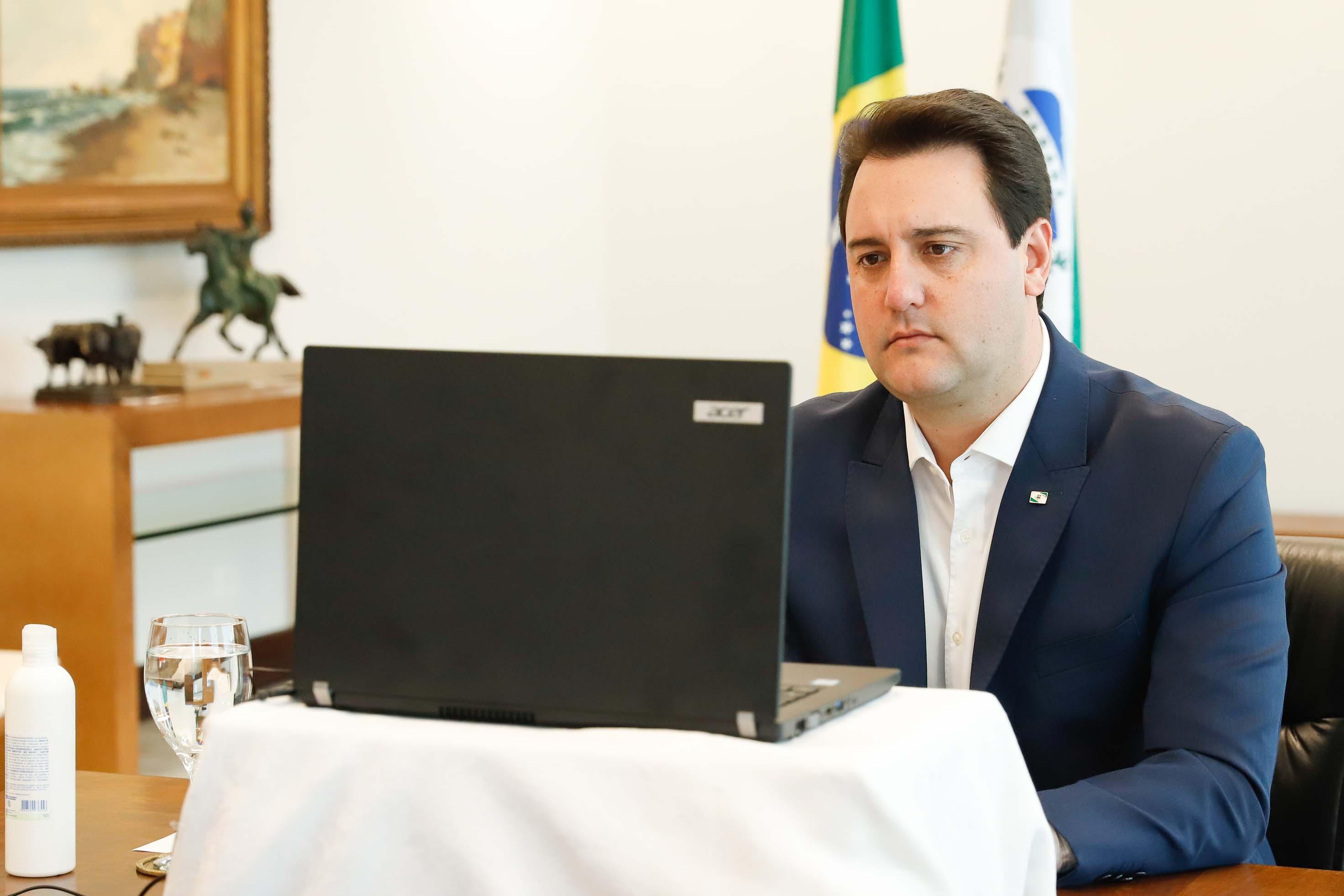 Governador Ratinho Júnior
