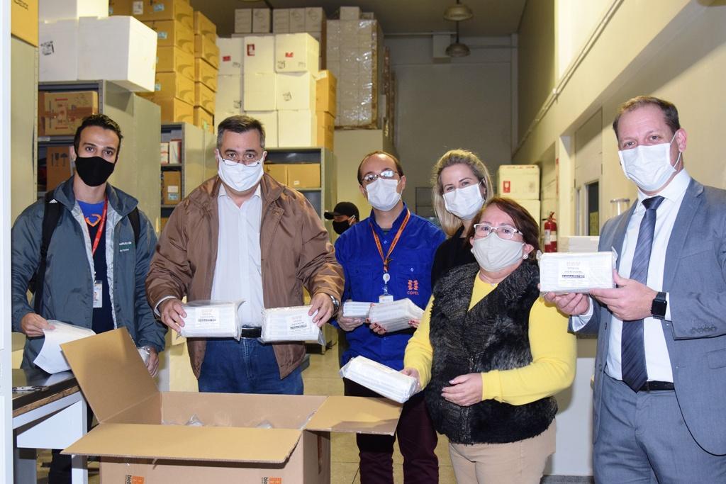 IBPM recebe nova remessa de material para testes da Covid-19