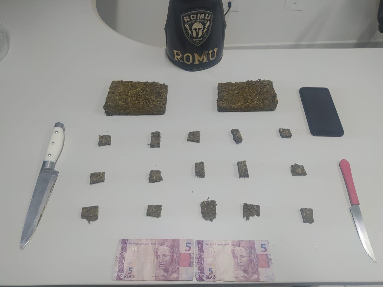 Acusado de envolvimento com o tráfico de drogas é preso