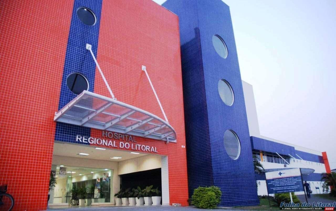 Hospital Regional do Litoral tem 20 pacientes internados na Ala Covid