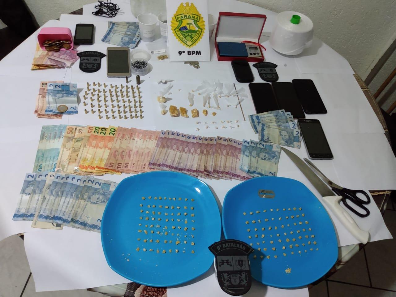 tráfico de drogas em Pontal do Paraná
