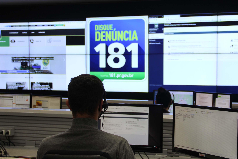 Disque Denúncia tem número recorde de registros
