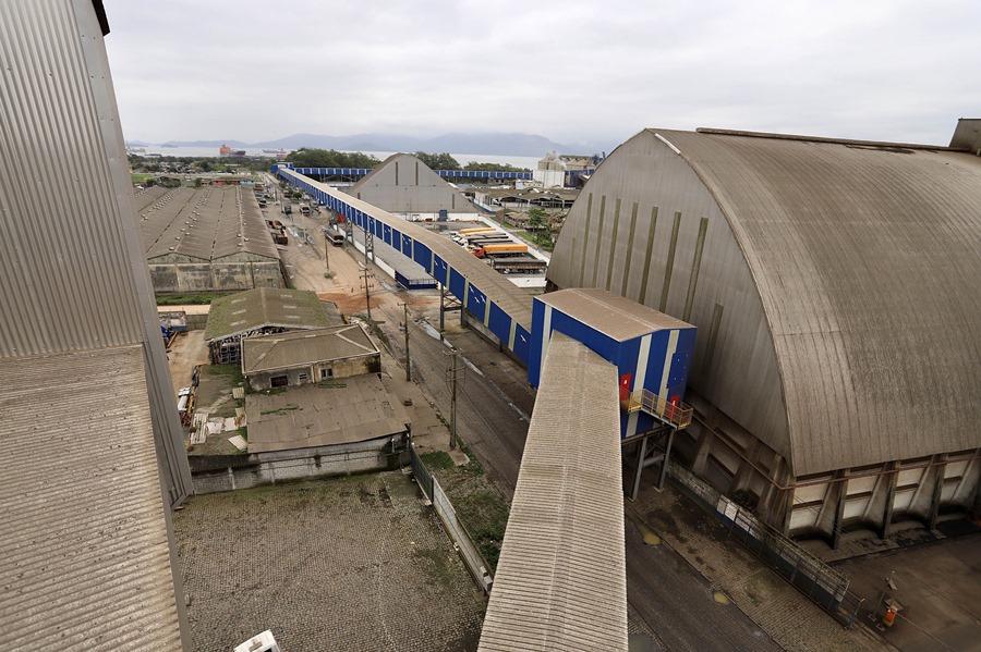 potencial de produtividade do Porto de Paranaguá