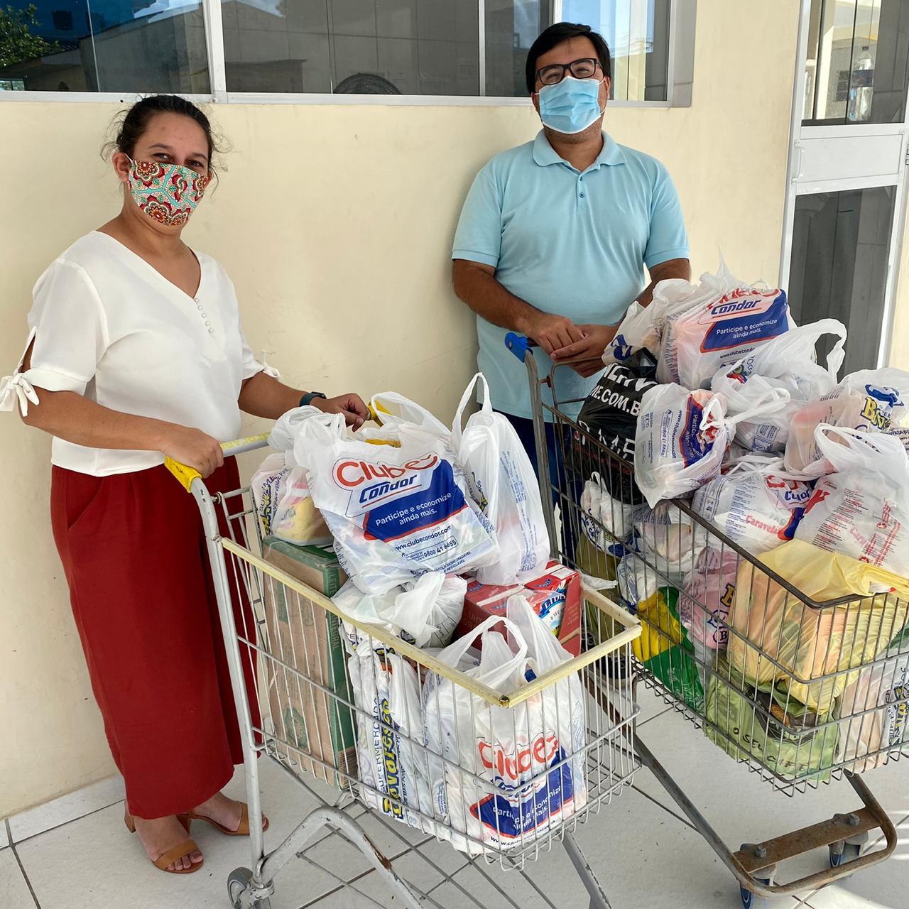 Lar de Idosos Perseverança recebe doação de alimentos