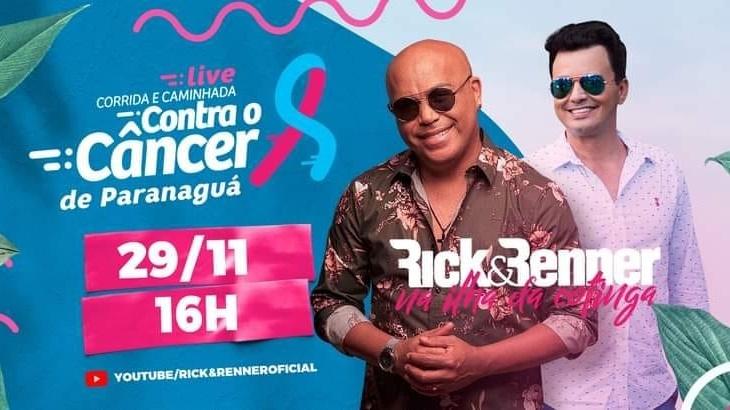 Live Corrida Contra o Câncer de Paranaguá