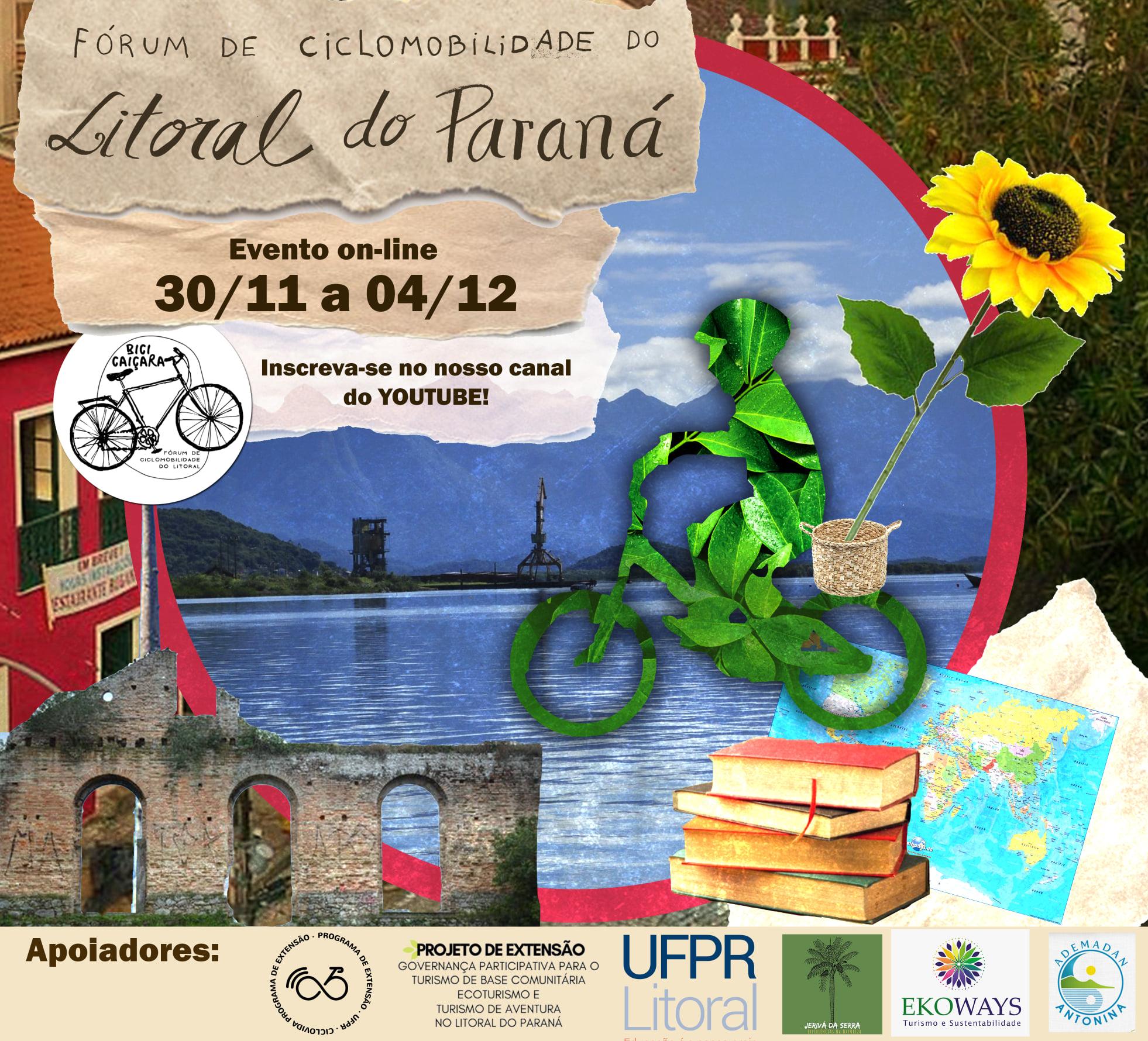 Fórum de Ciclomobilidade do Litoral será realizado on-line