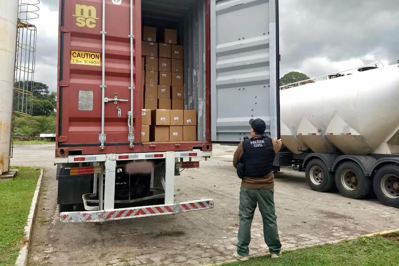 PCPR recupera carga de panetones importados avaliada em R$300 mil na RMC