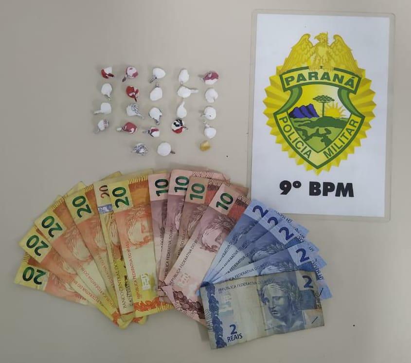 Suspeitos de tráfico de entorpecentes são presos pela ROTAM na Vila dos Comerciários