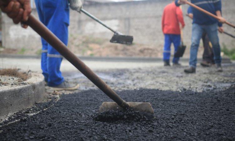 Jardim Iguaçu, Vila Marinho e Ouro Fino receberão 10,5 km de asfalto