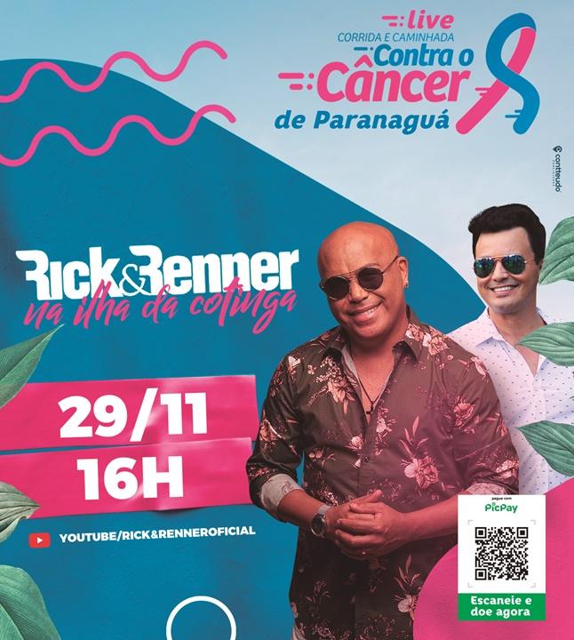 Live Corrida do Câncer com a dupla Rick e Renner