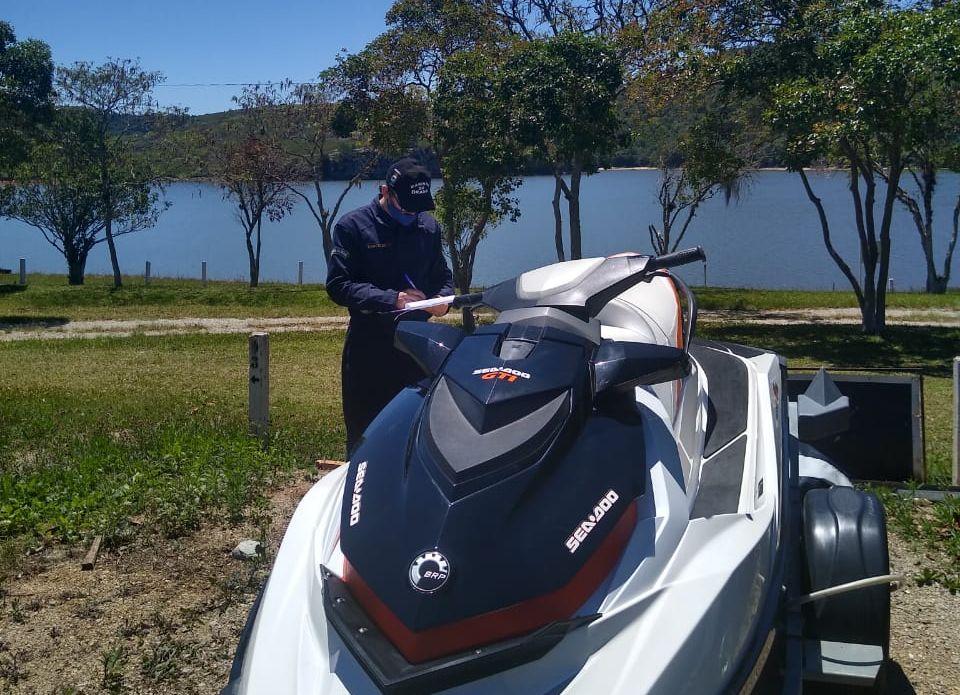 Capitania dos Portos realiza ações de conscientização no combate à Covid-19