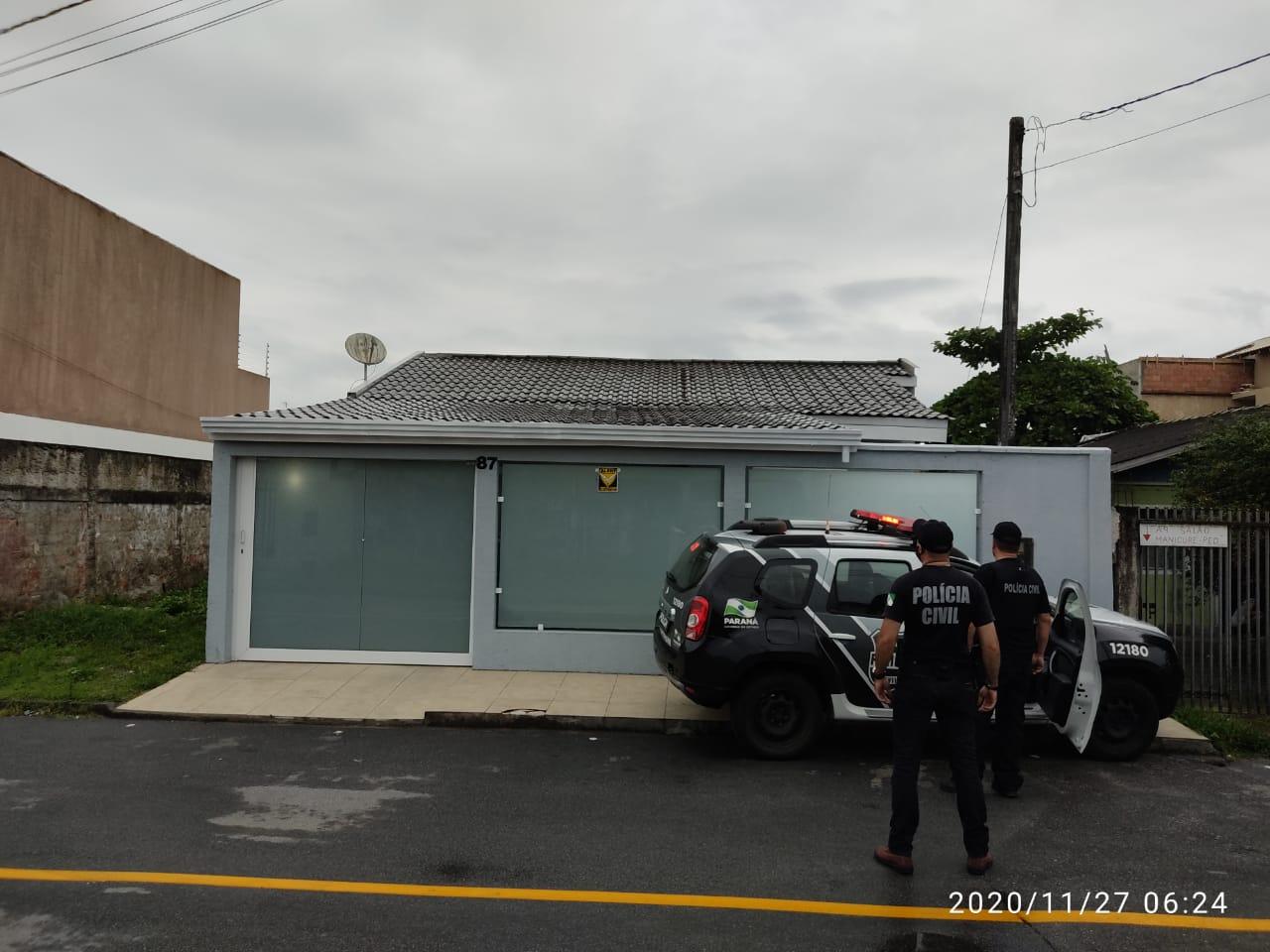 Adulteração de cargas: PCPR cumpre mandados de prisão e busca e apreensão em Paranaguá e Matinhos