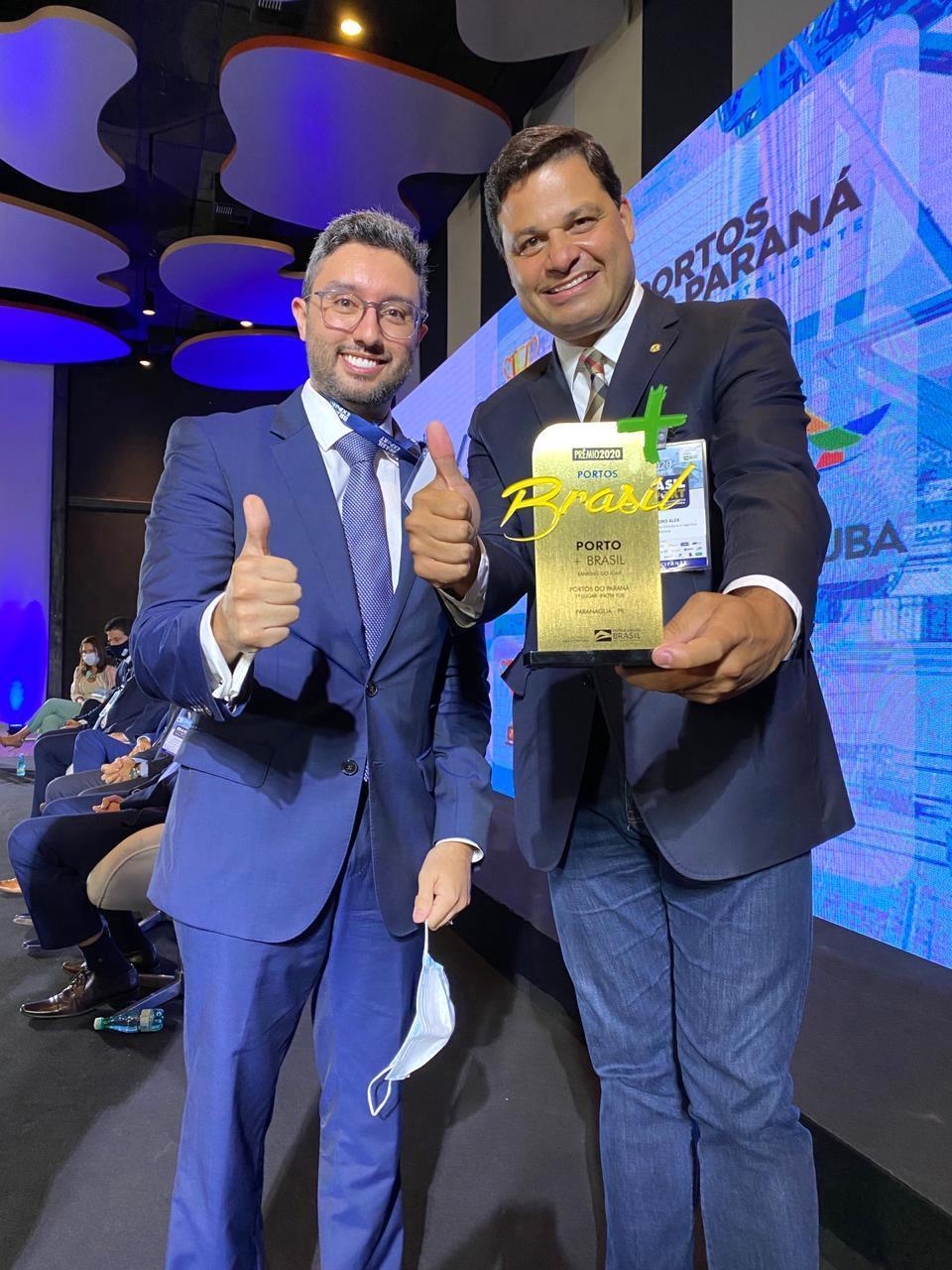 Portos do Paraná lidera premiação de melhores do Brasil