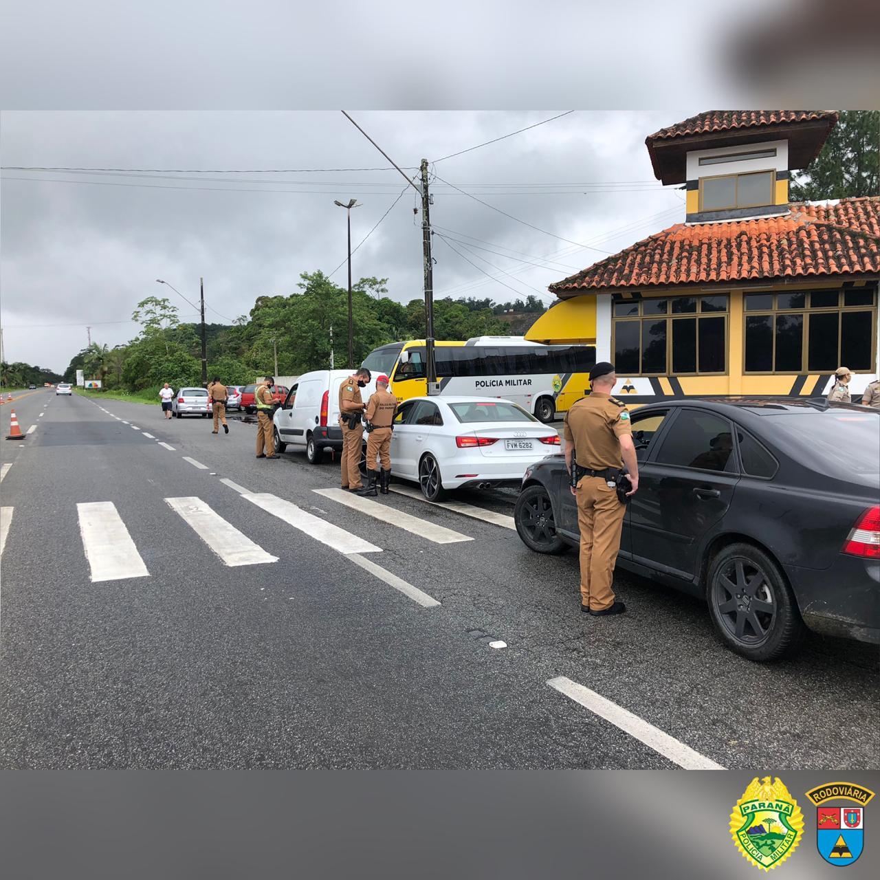 Polícia Rodoviária Estadual vai realizar barreiras sanitárias nas estradas de acesso ao litoral
