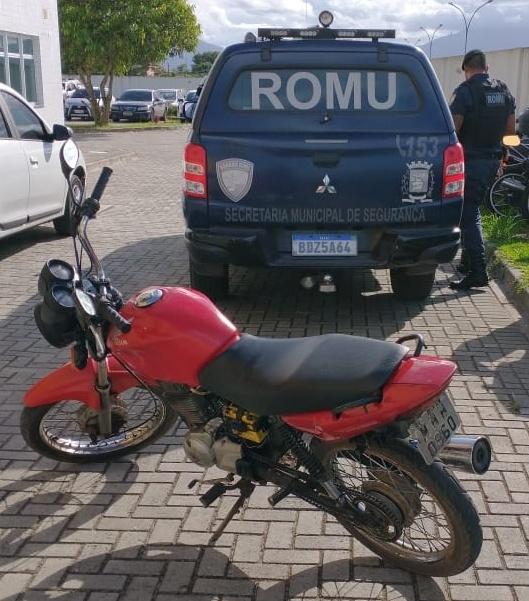 ROMU recupera duas motocicletas furtadas em Paranaguá