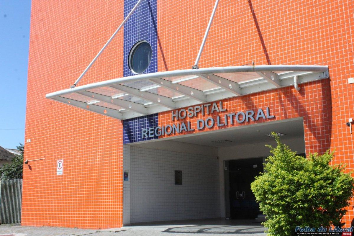 Oito mortes por Covid-19 foram registradas pelo Hospital Regional do Litoral em três dias
