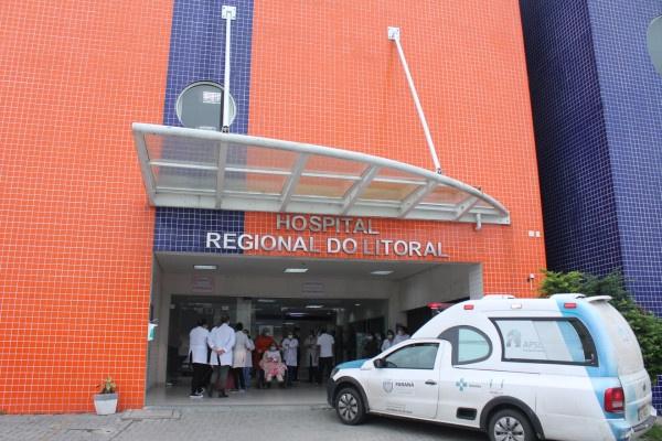 Hospital Regional confirma três óbitos por Covid-19 no litoral paranaense