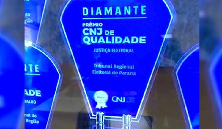 TRE-PR é Diamante no Prêmio CNJ de Qualidade