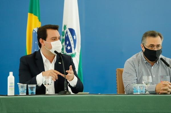 Paraná está preparado para a vacinação, afirma governador