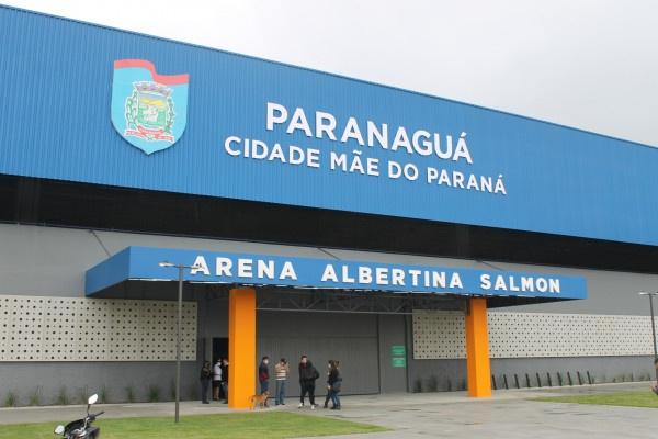 Arena Albertina Salmon será referência para atendimento a pacientes com Covid-19 em Paranaguá