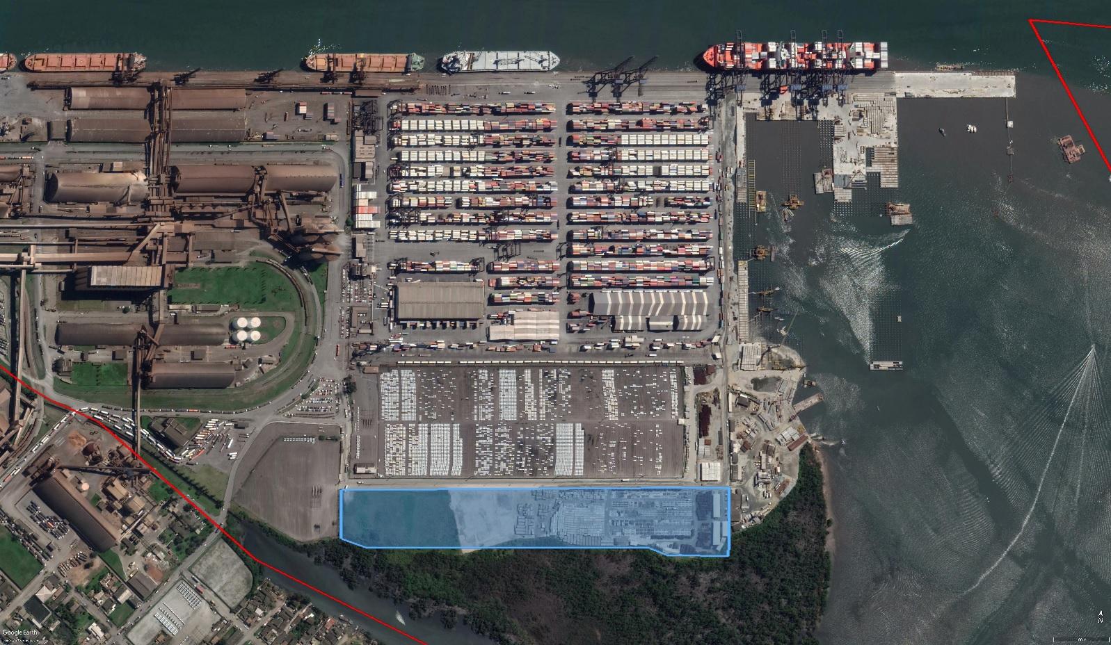 Confirmado leilão de área de veículos do Porto de Paranaguá