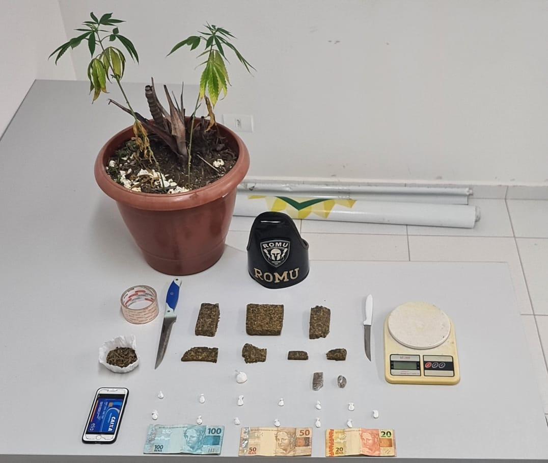 Acusado de envolvimento com o tráfico de drogas é preso pela ROMU na Ponta do Caju