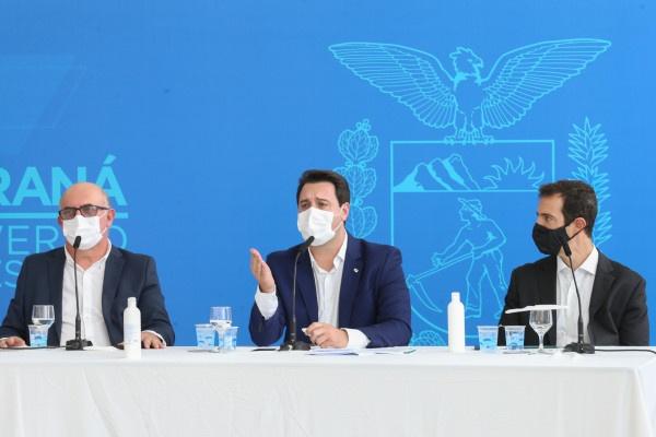 Governador anuncia volta das aulas presenciais no Paraná em fevereiro de 2021