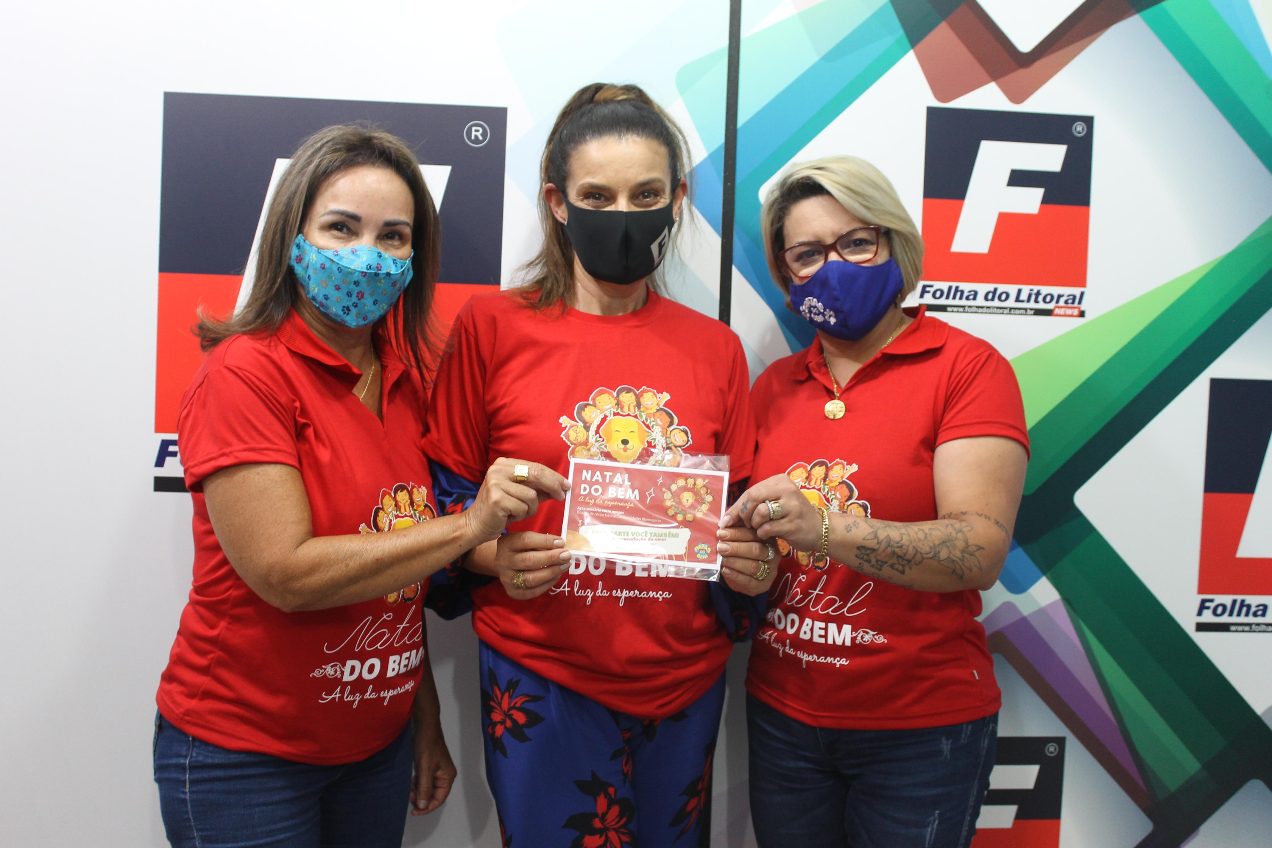 Grupo organiza o Natal do Bem em Paranaguá