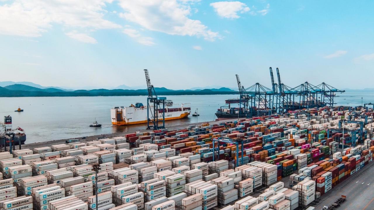 Terminal de Contêineres de Paranaguá tem calado operacional ampliado