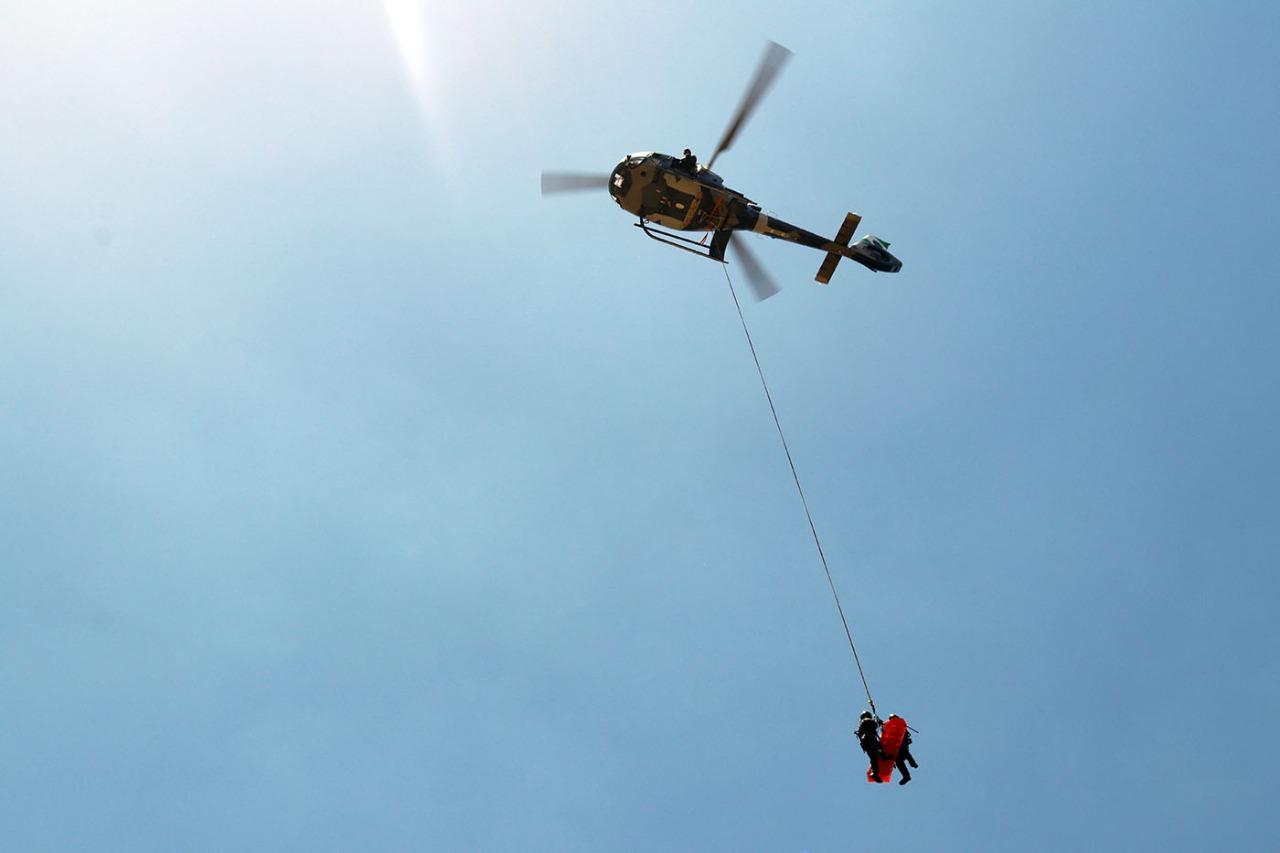 Batalhão de operação aéreas atende vítimas de afogamentos e acidentes