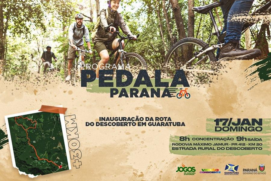 Programa Pedala Paraná tem início com inauguração de rotas no litoral