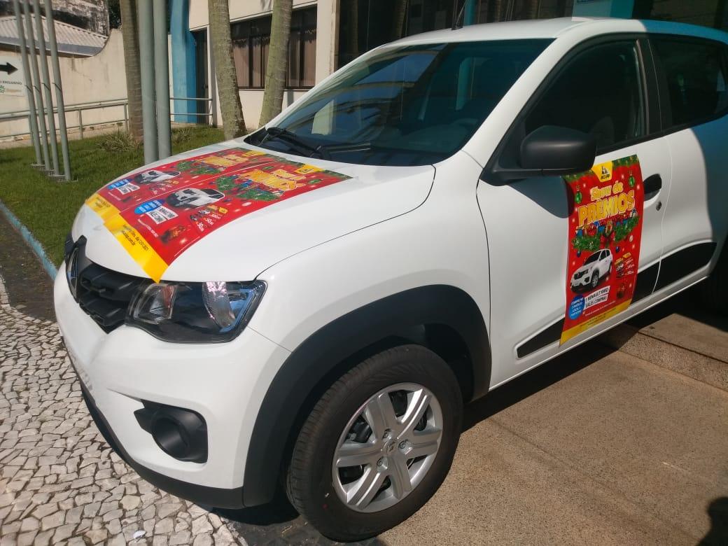 """Aciap realiza sorteio do Renault Kwid e encerra campanha """"Show de Prêmios"""" 2020"""