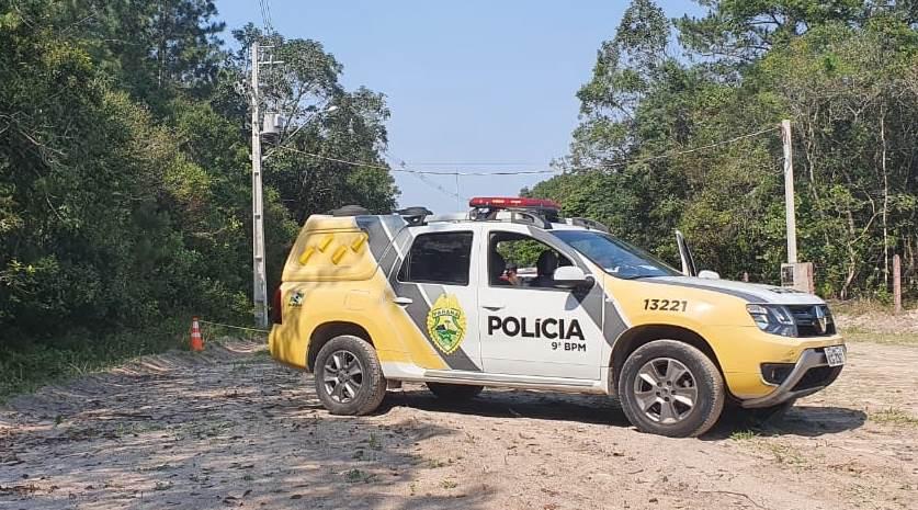 Achado de cadáver em Guaraqueçaba