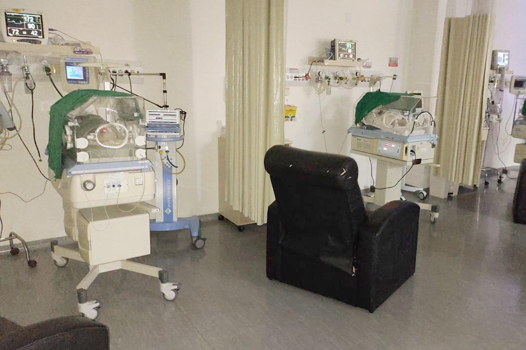 Estado disponibiliza leitos de UTI para recém-nascidos vindos de Manaus