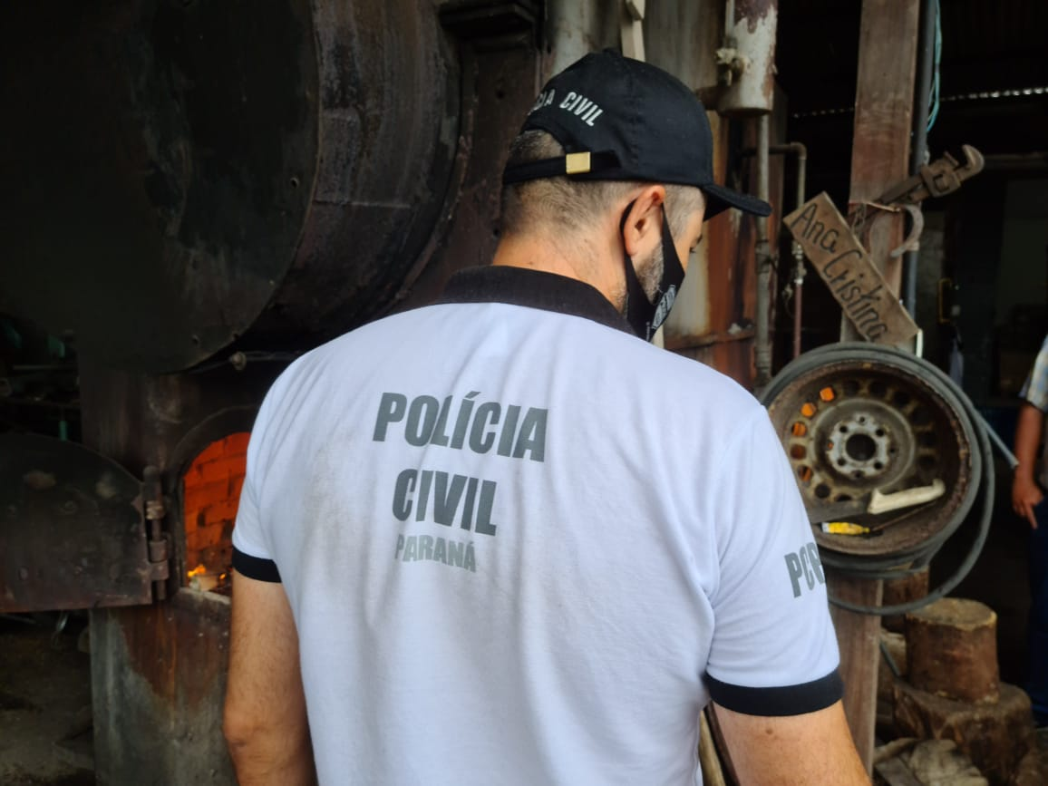 PCPR incinera 62 quilos de drogas em Guaratuba