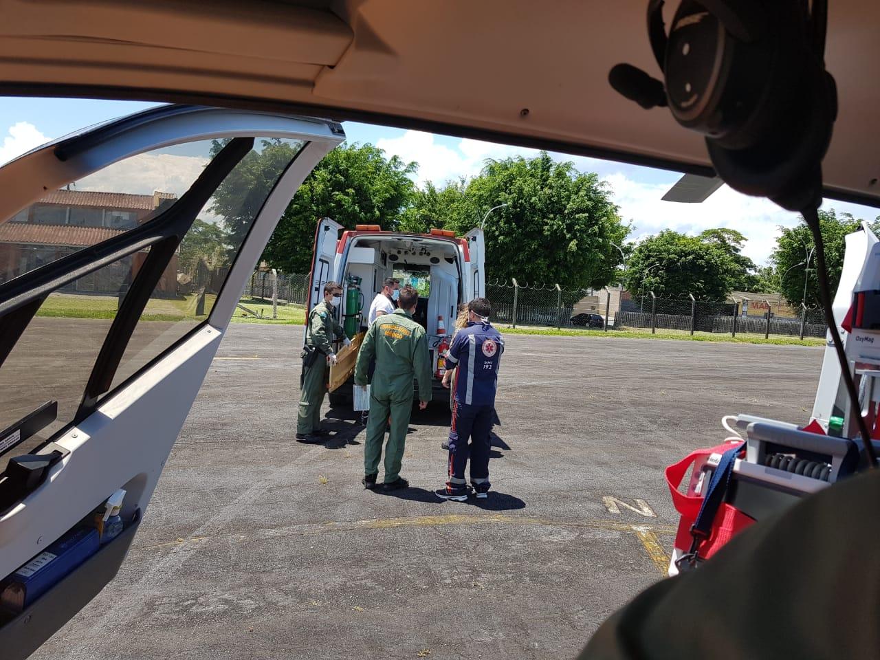 Resgate na Ilha do Mel: Vítima de queda é atendida pela GCM e BPMOA.