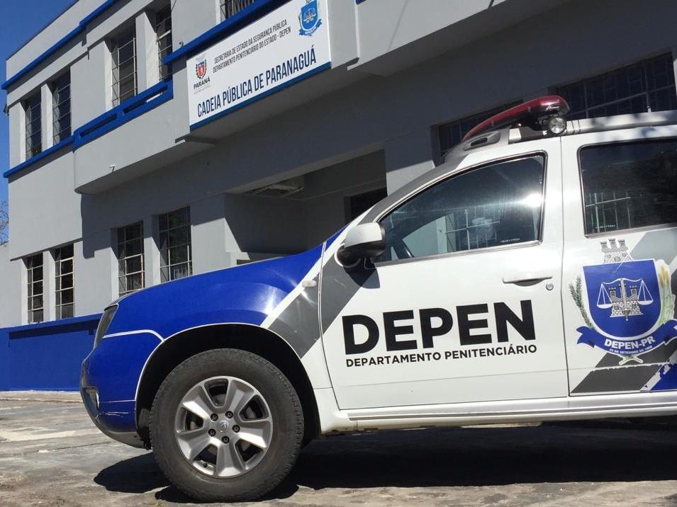 Policiais penais descobrem plano de fuga da Cadeia Pública de Paranaguá