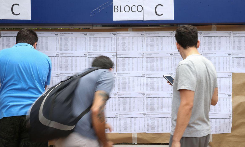 Estudantes fazem hoje a primeira prova do Enem 2020