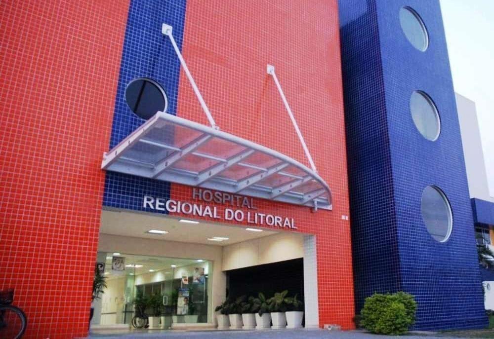 Hospital Regional do Litoral segue com 19 pacientes internados na Ala Covid-19