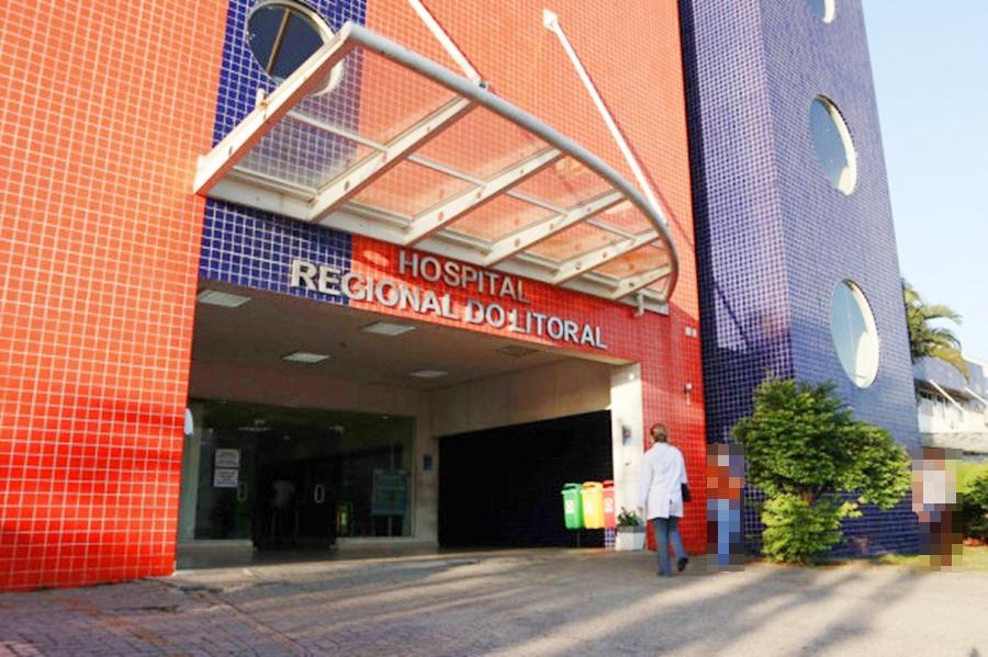 19 pacientes estão internados na Ala Covid-19 do Hospital Regional do Litoral