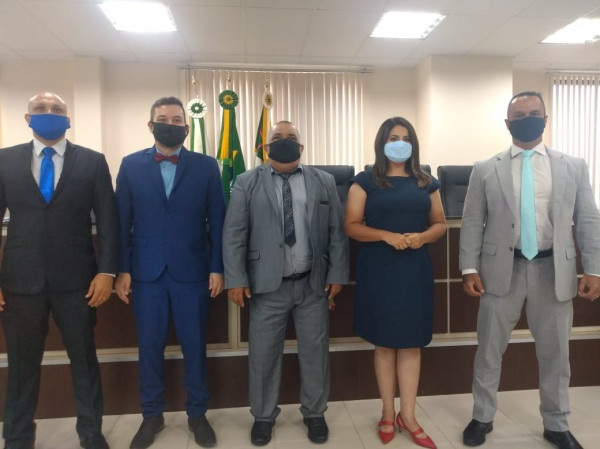 Vereador Fabio Santos é eleito presidente da Câmara de Paranaguá