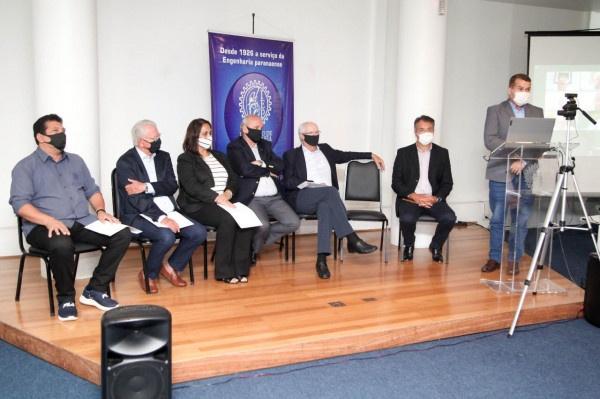 Sociedade civil oficializa apoio às obras estruturantes no litoral do Paraná