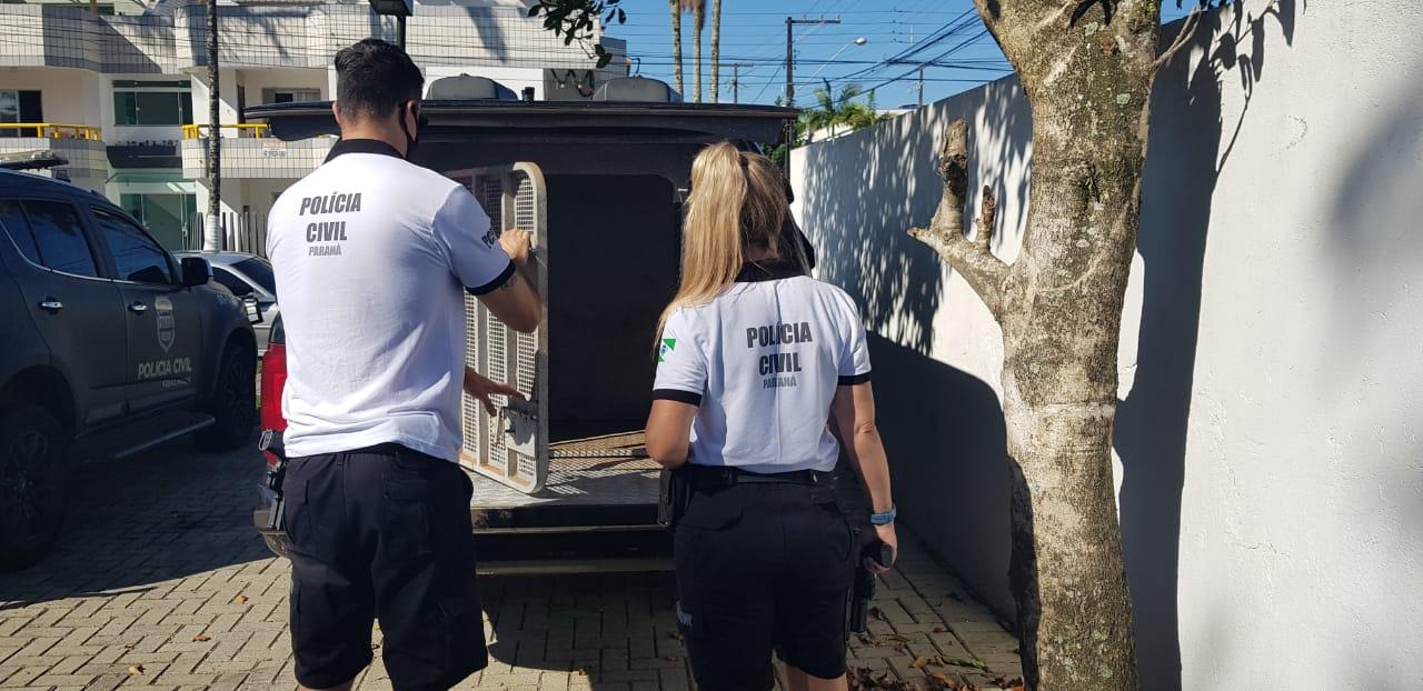 PCPR prende homem que mantinha companheira em cárcere privado em Antonina