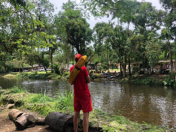 Corpo de Bombeiros realiza ações de prevenção a afogamentos em rios