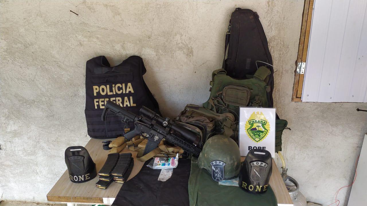 Ação conjunta combate organização criminosa especializada em roubo a bancos no Paraná