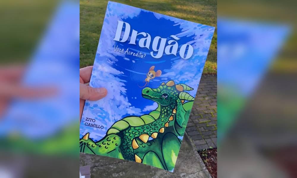 Parnanguara que reside nos EUA escreve livro infantil em cinco idiomas