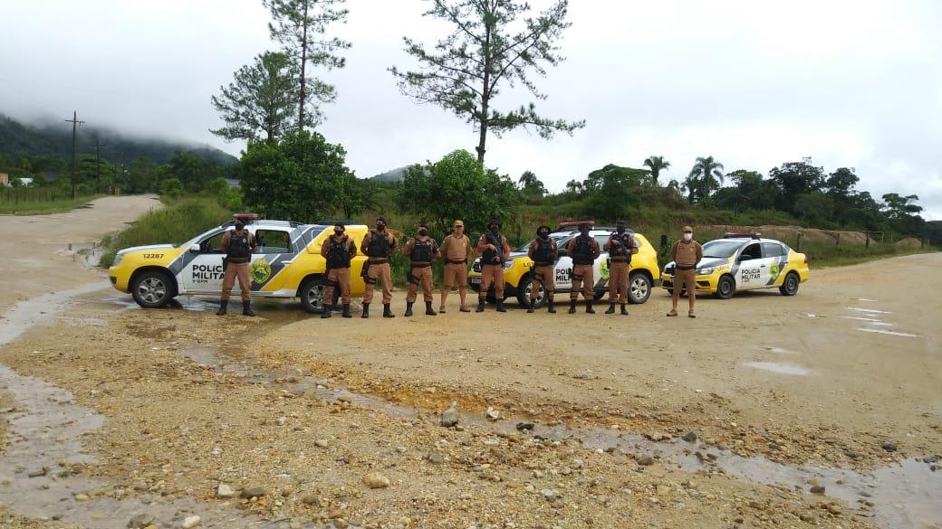Ação conjunta prende três foragidos da Justiça em Guaraqueçaba