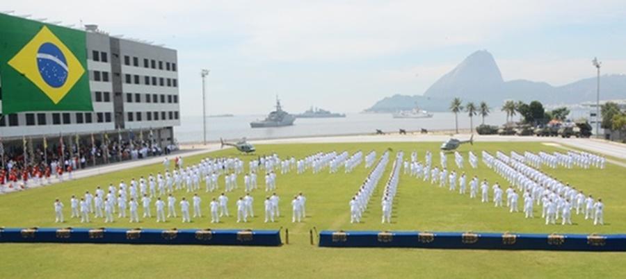 Inscrições para concurso para a Escola Naval iniciam em 22 de fevereiro