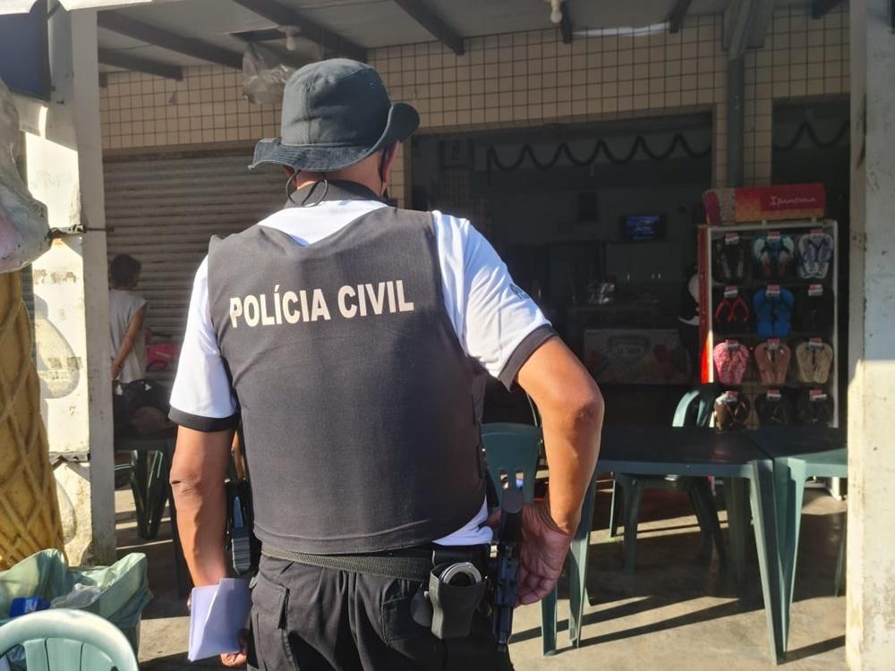 polícia civil descobre ponto de venda de drogas